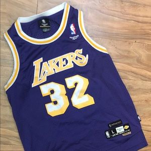 Reebok Hardwood Classic Magic Johnson Jersey